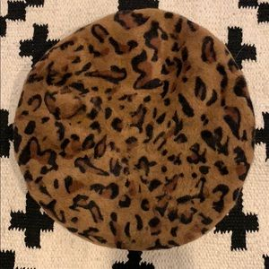 c.c. exclusive Accessories - CC Exclusive leopard print Beret hat